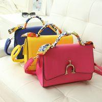 2014 new Guangzhou factory OEM order and fashion PU package diagonal single shoulder bag thumbnail image
