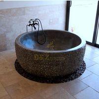 Popular Design Qing Stone Hand Carving Bathtub thumbnail image