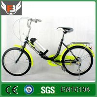 Aluminum Alloy Frame 36V 250W Battery Foldable Electric Bicycle
