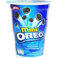 Oreo Mini Vanilla Cream - 67g,Oreo Mini Chocolate Cream - 67g thumbnail image