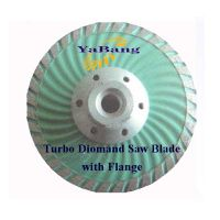 Turbo Diamond Saw Blade with flange thumbnail image