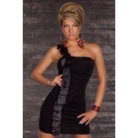 One-shoulder Mini Dress V-5429C thumbnail image