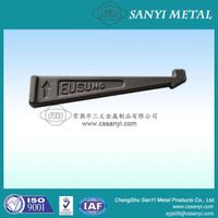 Forged tie bar for customized useage construction machinery assembly