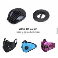Bulk stocks PP breathing valve for face ma sk silicone valve filter for N95 cup msk thumbnail image