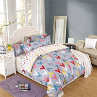 Printed Bed Linen Set Duvet Cover, Beautiful Bed Sheet Sets, Custom Bed Cover Set thumbnail image