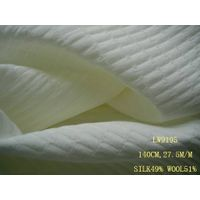 silk/wool fabric:LW9195