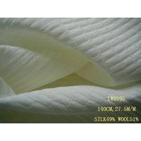 silk/wool fabric:LW9195