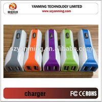 Factory wholesale high quality multi usb port car charger,used car battery charger sale ,5v 2a usb c