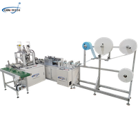 Fully automatic plane one drag one high speed mask machine thumbnail image