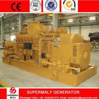 500KW Natural Gas Generator set with CHP heat exchanger