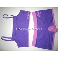 Ladies Seamless Sports Set camisole&brief suit thumbnail image