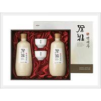 Korean Alcoholic Beverage 'Kang Jang Bek Se Ju Gift Set' thumbnail image