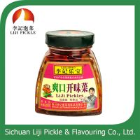 Sichuan preserved vegetable, wholesale mustard tuber with spicy oil thumbnail image