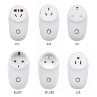 Wifi Smart Plug Wireless Remote Control Voice Control Power Monitoring Timer Plug thumbnail image