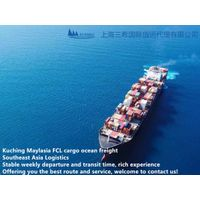 Shanghai to KUCHING ocean freight Malaysia partial ports FCL cargo logistic service