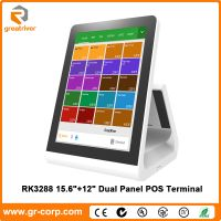 GreatRiver V2 Full Flat Touchscreen Desktop POS Machine All-in-one POS System for Retail Store