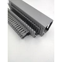 slotted cable trunking, wire duct, wiring duct