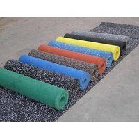 Interlocking Rubber fitness flooring:54*54cm,61*61cm