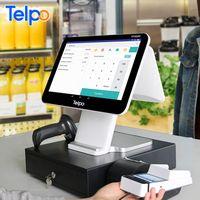 Windows OS TPS680I touch screen restaurant ordering pos terminal bill register machine thumbnail image