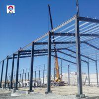 Light steel frame mica mine prefab warehouse hot dip galvanized steel structure warehouse