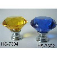 High quality K9 crystal diamond knob