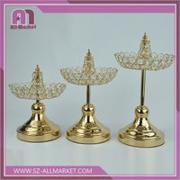 Wedding & Home Decoration Crystal Candle Holder/Candlestick