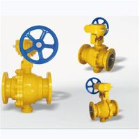Worm Gear Fuel Gas Ball Valves