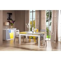 high gloss dinning room sets