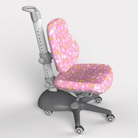 Adjustable Study Chair YA pink