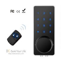 Architectectural Ironmongery Keyless Digital Door Locks Home Business Smart Remote Code Door Locks