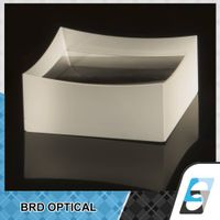plano concave cylindrical lens