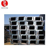 factory sale galvanized Steel C / U Channel Sizes