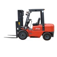 3 ton diesel forklift with four wheel drive for sale cheap price thumbnail image
