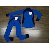 100% merino wool  children underwear set