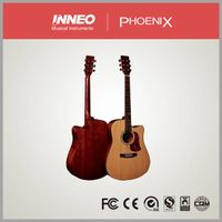 Well-finish Factory Plywood Acoustic Guitar(RFG002C) thumbnail image