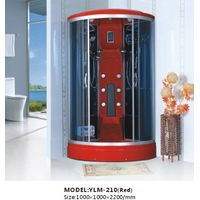 Fashionable Red Shower Cabin