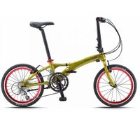 Dahon Visc D18 Appletini Folding Bike Bicycle.......$499 USD