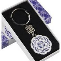 zinc alloy key holder promotional keyrings