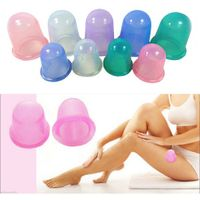 Factory Price Body Cellulite Vacuum Suction Silicone Massage Cup thumbnail image