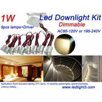 Recessed Mini Led Spotlight Downlight light Driver Kit Decorative lighting fixture