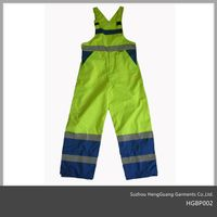 Hi Vis Safety workwear Bibpants