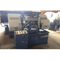New horizontal saw machine,GB4230X angle cut band saw machine for metal cutting