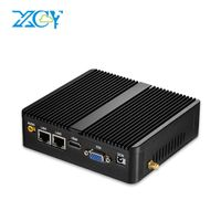 XCY cheap all in one pc celeron mini pc celeron 3205U 3805U 2 ethernet 2 RS232 zero client thumbnail image