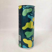 Custom printed Slim 250ml Aluminum Cans