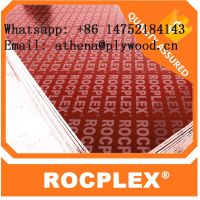 Red film faced plywood, 18mm film faced construction shuttering plywood, construction pine plywood