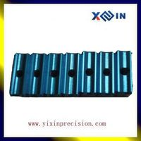 Custom spare metal mechanical parts cnc turning&milling with hard anodic oxidation surface treatment
