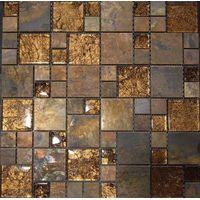 Antique copper mosaic/ Metal mosaic thumbnail image