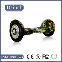 "10"" UL Cross-country Bluetooth Hoverboard In Hip-hop"