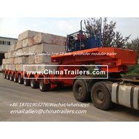 Scheurele Hydraulic modular trailer