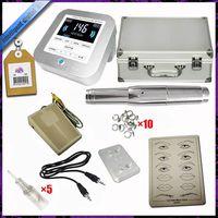Permanent Digital Makeup Tattoo Machine Kit With Handpiece